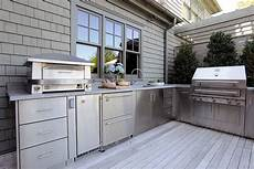 stainless steel outdoor kitchens steelkitchen