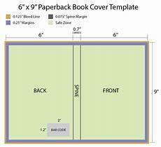 Free Books Template 6x9 Paperback Book Cover Template Okladki Pinterest