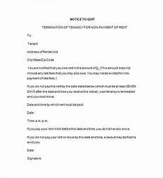 Tenant Notice To Quit Template 19 Notice To Quit Templates Pdf Google Docs Ms Word