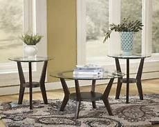 Cf Furniture Living Room 3 Set L Table by Glass Top 3 Coffee Table Set Collection Home