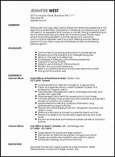 Clerical Resume Template Free Traditional Clerical Officer Resume Template Resume Now