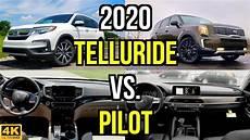 2020 kia telluride vs honda pilot new king on the block 2020 kia telluride sx vs honda