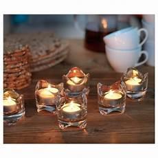 candele profumate ikea v 196 snas theelichthouder helder glas ikea