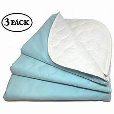 soft washable reusable incontinence bed pads