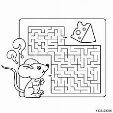 vector illustration of education maze or labyrinth