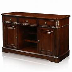 buffet storage cabinet dining server sideboard wood table