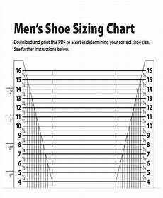 And Shoe Size Chart Free 40 Chart Templates In Pdf Excel Ms Word