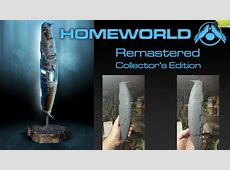 Homeworld Remastered collector's edition includes a 12