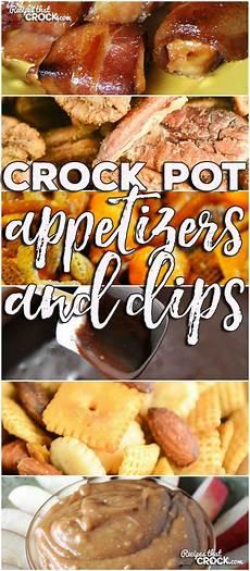 crock pot appetizers dips friday favorites recipes