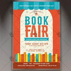 Flyers Book Book Fair Premium Flyer Psd Template Psdmarket