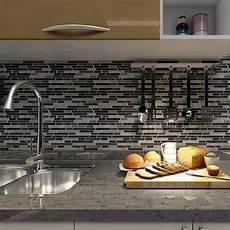 peel and stick kitchen backsplash 12 quot x12 quot peel and stick tile for kitchen backsplash 6 tiles