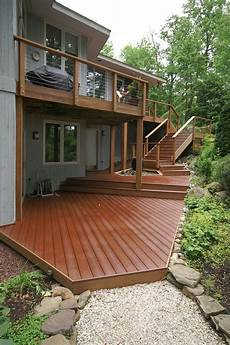 Two Level Deck Designs Tiered Split Level Amp Multi Level Deck Ideas Amp Pictures