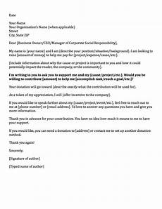 Request For Contribution Letter Sample Donation Request Letters Asking For Donations Made Easy