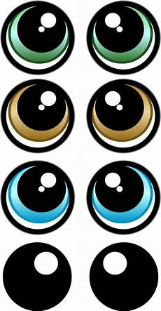 Eye Template Print Your Own Eye Stickers Template Pack Twister Sister
