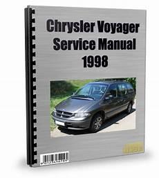 2002 Chrysler Voyager Workshop Manual Free Download