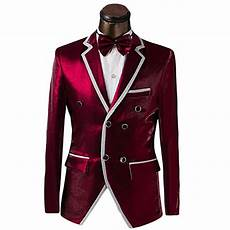 Designer Jackets For Suits 2017 Latest Coat Pant Designs Red Notch Lapel Two Buttons