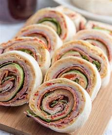appetizers pinwheel italian pinwheels a delicious appetizer for a crowd