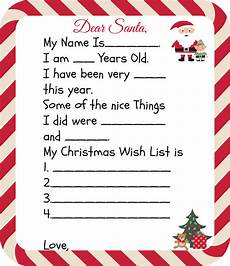 A Letter From Santa Template Free Printable Santa Letters For Kids