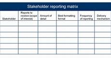 Reporting Matrix Template Ask These Questions To Reach Your Stakeholders Techrepublic
