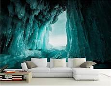 Cave Sofa 3d Image by Custom 3d Photo Wallpaper Mural Living Room Cave