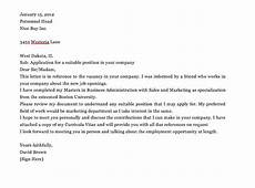 Applying For Any Position Cover Letter Simple Application Letter Sample For Any Vacant Position
