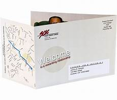 Templates For Mailers Self Mailer Direct Mail With Personalized Maps Customize