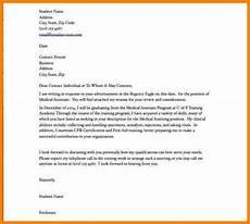 Medical School Cover Letter 5 Cover Letter For Medical Assistant Introduction Letter