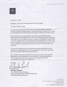 Letter Of Recommendation For Office Manager What People Are Saying About Dan Crandall