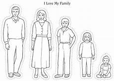 i my whole family preschool family theme family