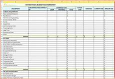 Job Costing Template Excel 6 Project Accounting Template Excel Excel Templates