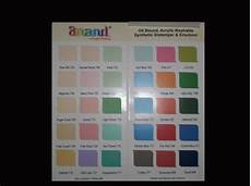 Asian Distemper Colour Chart Shade Cards For Paints In Delhi Patni Art Linkers New