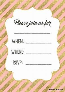 Free Printable Invitation Free Printable Birthday Invitations Free Printable