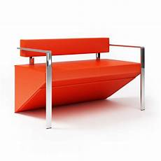 Steel Sofa 3d Image by Modern Sofa With Stainless Steel Arms 3d Model Obj