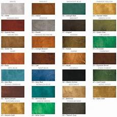 Stained Concrete Colors Chart Concrete Water Based Stain Surecrete Eco Stain Sample
