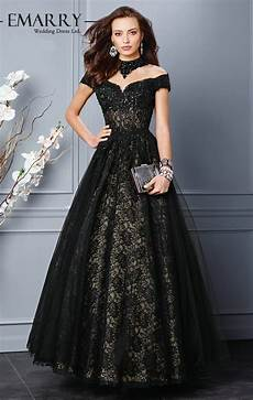 a 136 on sale gown black lace evening gowns 2015