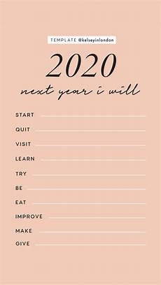 new year resolutions instagram story templates