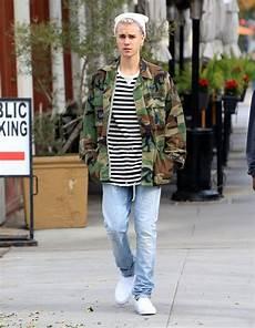 Justin Bieber Light Blue Jeans Justin Bieber Saint Laurent Low Waist Skinny Vintage Blue