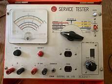 Service Tester Vintage Electrical Service Tester