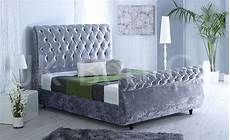 new swan crushed velvet luxurious upholstered desginer