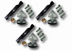 Rzt54 Zero Turn Mower Deck Kit Spindle Blades Bolts