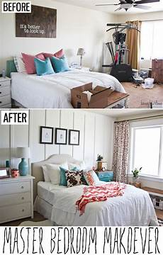 three inspiring before and after bedroom renovations on a