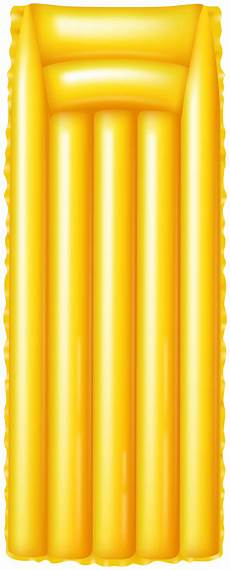 air mattress yellow png clipart gallery