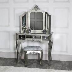 silver mirrored bedroom furniture range melody
