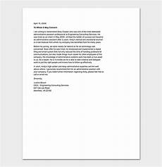 Letter Of Recommendation Administrative Assistant Reference Letter Template 50 For Word Amp Pdf Format