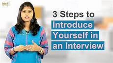 How To Introduce Yourself In An Interview 3 Steps To Introduce Yourself In An Interview Interview