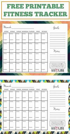 Printable Exercise Tracker Track Your Progress With These Free Printable Fitness