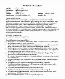 Job Proposal Letter Example Job Proposal Template 24 Free Word Pdf Document
