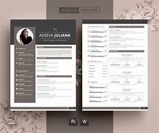 Modern Picture Resume Modern Resume Template Julianna Resume Templates
