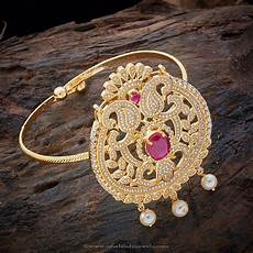 Bajubandh Designs In Silver Gold Plated Cz Bajuband South India Jewels