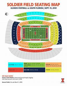 Soldier Field Seating Chart Illinois Ticket Office Fightingillini Com
